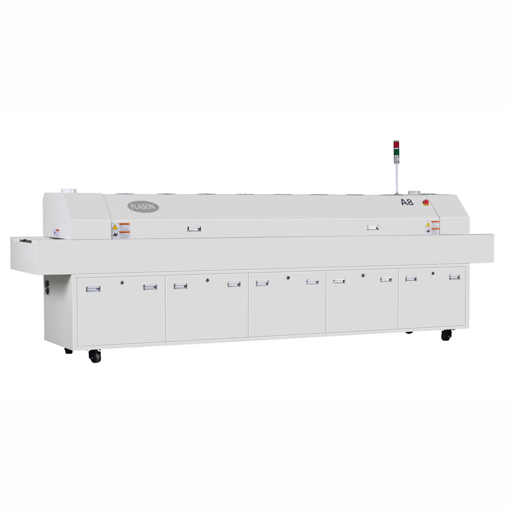 LED PCB production Reflow Oven A8
