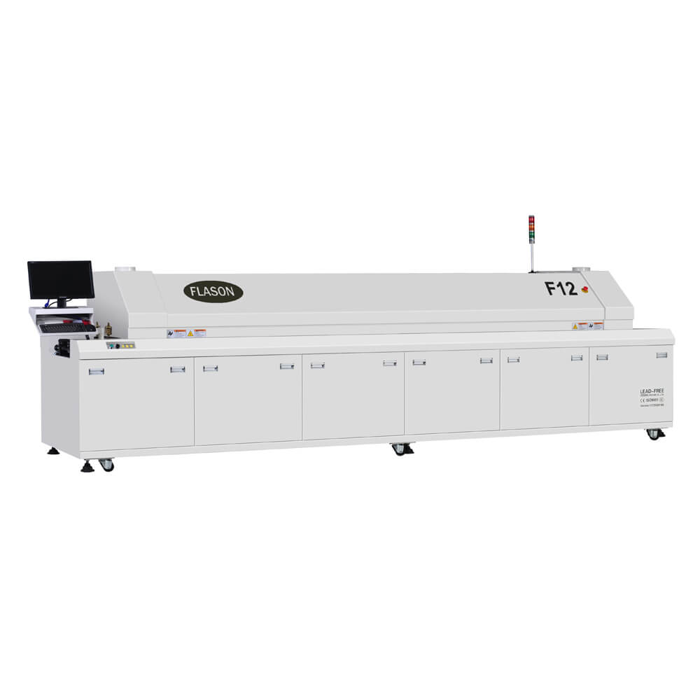 12 heating zones Reflow oven F12