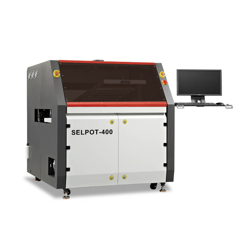 Integrated Selective Wave Soldering Machine
