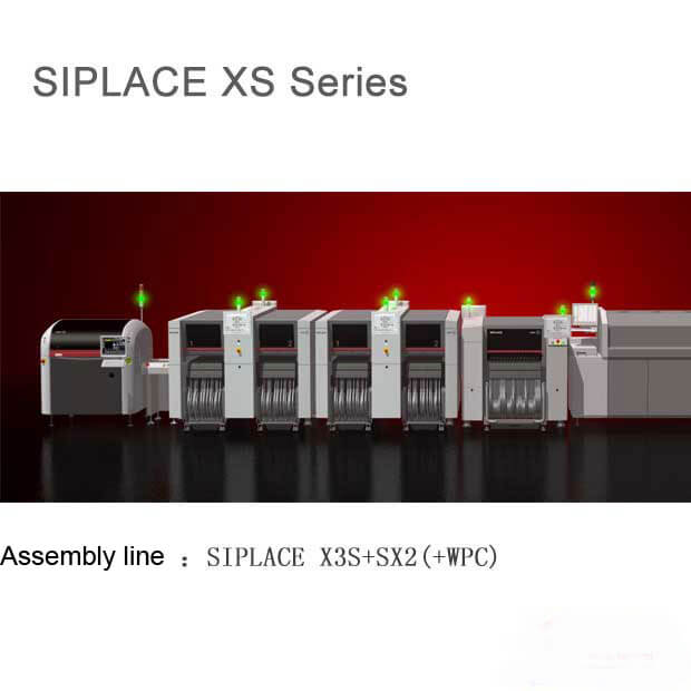 Siemens SIPLACE X3S+SX2 (+WPC) Pick and place Machine